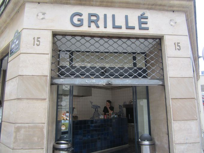 世界ベストレストランにランクインのビストロが提案するケバブ「グリエ(Grillé)」