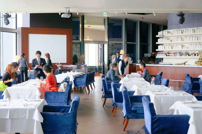 六本木ヒルズの展望台と同じ高さ!「天空のレストラン」へようこそ!