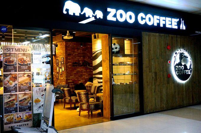 動物好きにはたまらない?!愉快で楽しい気分になるZOO COFFEE!
