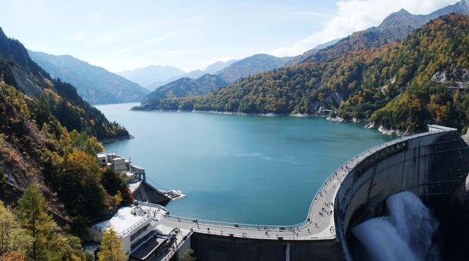 観光放水がなくても日本最大の黒部ダムは見どころ満載!