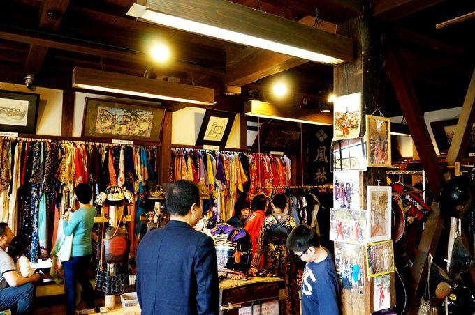 鎧や着物を着ての撮影はいかが?陶芸や和紙作りも体験できますよ!