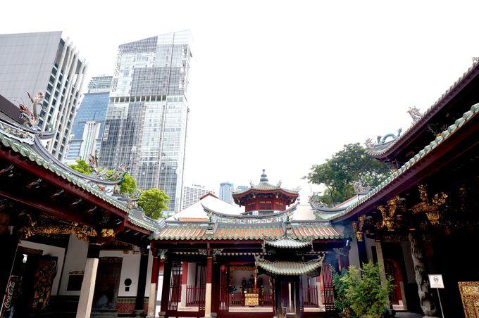 シンガポール最古の中国寺院、シアン・ホッケン寺院