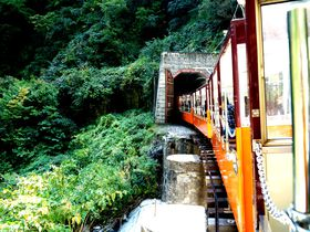トロッコ電車が目の前!フィール宇奈月ホテルは黒部峡谷にアクセス抜群