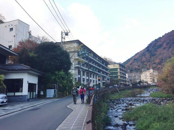 最古の温泉場、箱根湯本