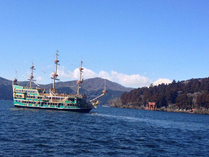 芦ノ湖から旧東海道の杉並木を抜け、ゴールへ!