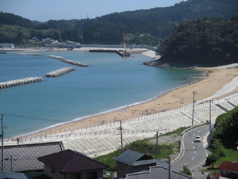 待ちわびた砂浜が復活!広田半島・大野海岸へ