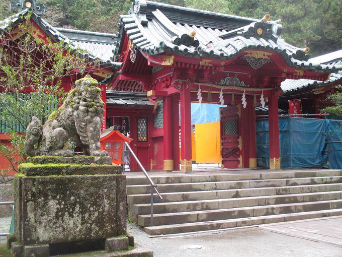 2000年以上もの由緒ある箱根神社へ