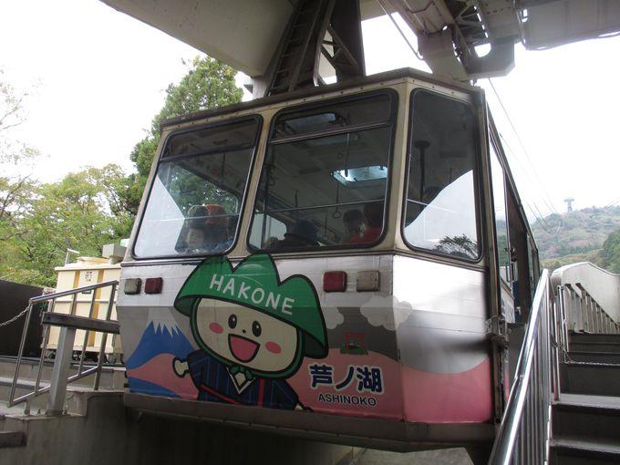 しめくくりは箱根神社奥宮・駒ヶ岳元宮から富士山を!