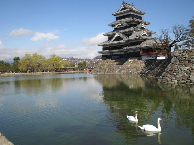 そぞろ歩きの終点・松本城へ