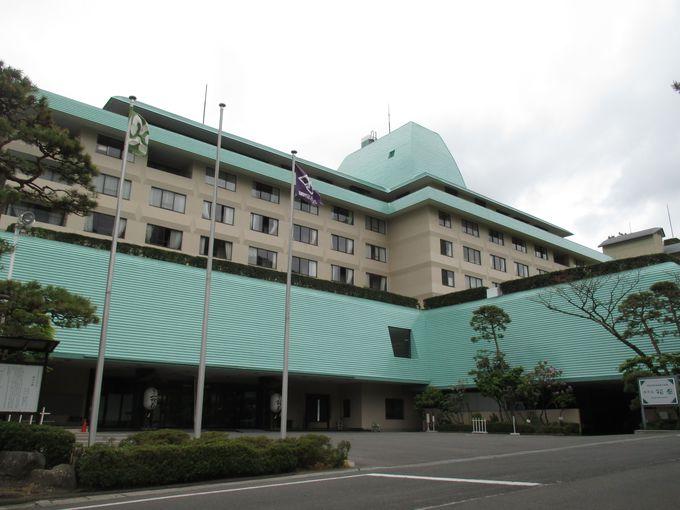 落ち着きのある「ホテル花巻」と「ホテル紅葉館」