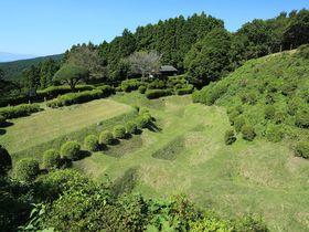 驚きの障子掘!静岡・国指定史跡で観る戦国時代の防衛網の凄さ