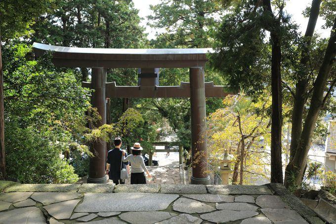 縁結びの伊豆山神社でパワーをもらう