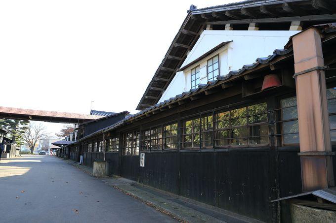 巨大備蓄プロジェクトの山居倉庫は連続TV小説「おしん」の撮影も