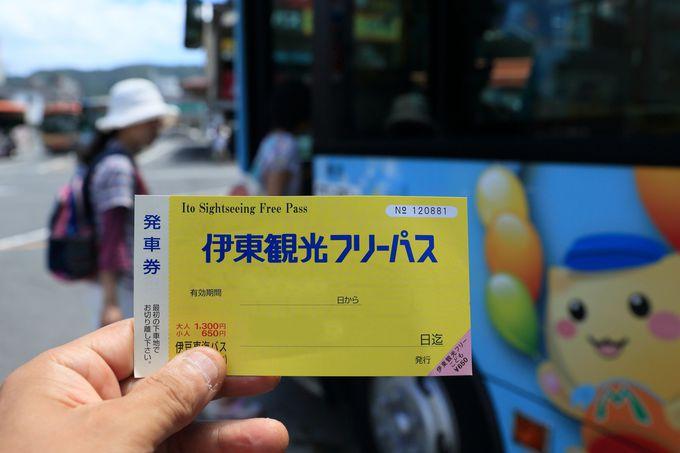 東海バスの「伊東観光フリーパス」を使って東伊豆を満喫!