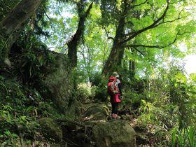 奇岩・巨石が迎える神奈川・石老山はアドベンチャー気分満載