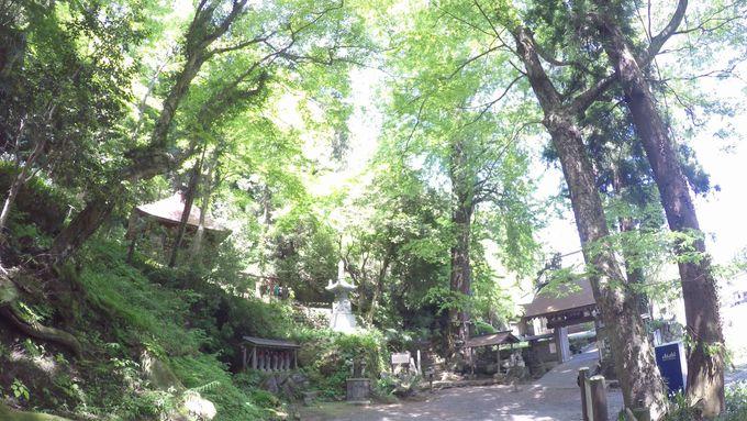 顕鏡寺(けんきょうじ)は岩窟がある高野山真言宗の古刹
