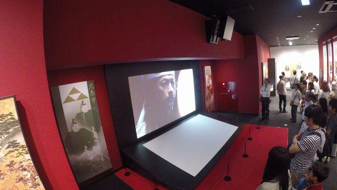 分かりやすい小田原城の歴史をシアターで映画鑑賞