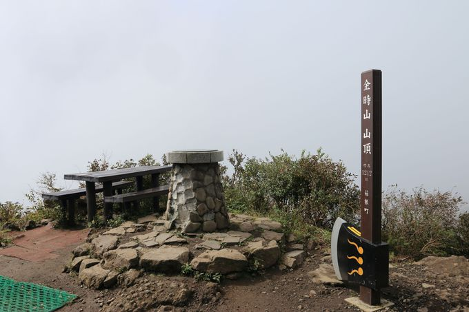 山頂の「まさかり」で撮影トイレは利用方法を守って!