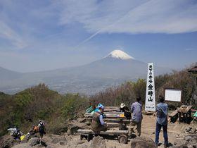 約2時間弱!混雑ない神奈川・金時山ハイキングで絶景富士