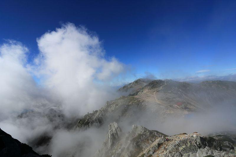 圧倒的なアルプスの景観!長野・宝剣岳の岩山縦走