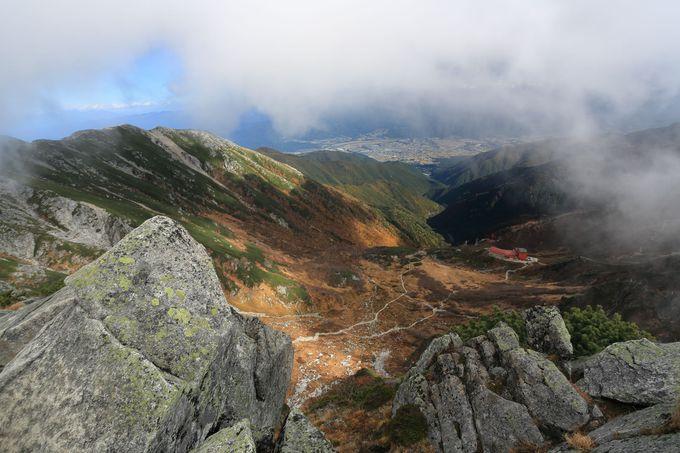 岩山、鎖場経験があるなら、宝剣岳縦走で絶景を!装備は万全に