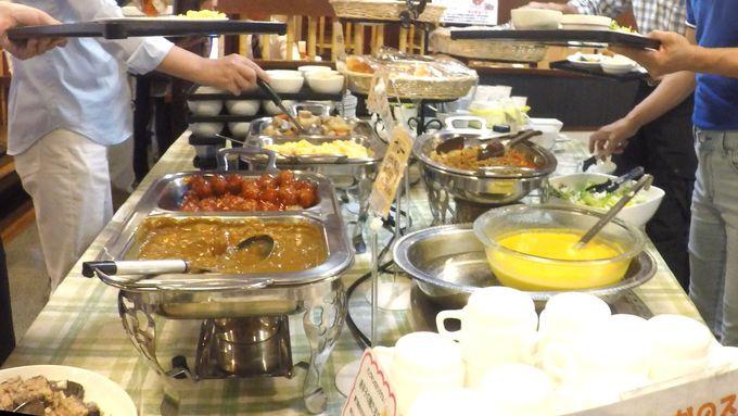 【6】手作り朝食【7】地元食材の夕食