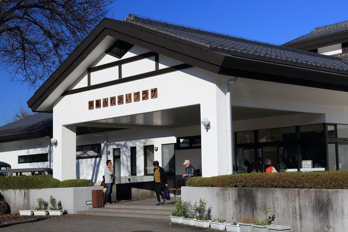 妙義神社近くの「もみじの湯」で関東平野を眺めながら癒される