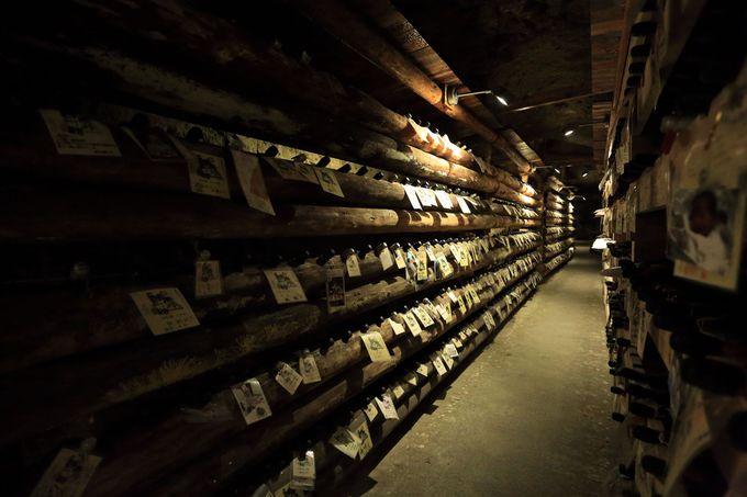 忘れられていた戦車工場跡!述べ600mの洞窟を現代の日本酒貯蔵に