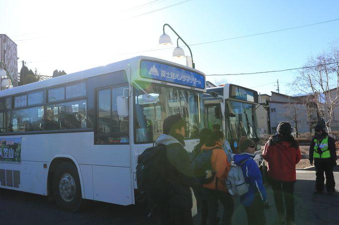 都心からのアクセスは最高!無料シャトルバスや、大駐車場も