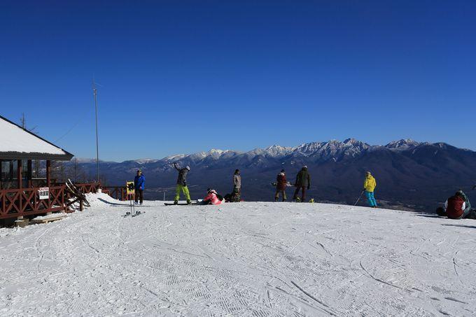 1955mの入笠山の裾野に広がる富士見パノラマリゾート