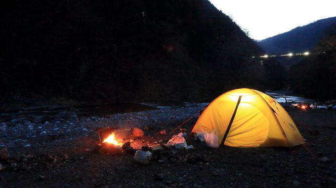 10.「奥多摩」で年越しキャンプ