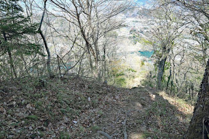 金剛山登山口へ下山