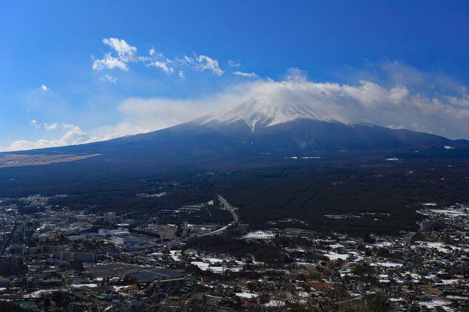 カチカチ山から絶景富士!山梨・天上山の冬ハイキング!