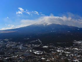 カチカチ山から絶景富士!山梨・天上山の冬ハイキング