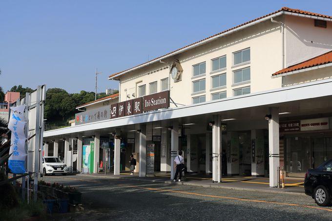 アクセスはJR伊東駅から。車なら天城高原ゴルフ場を目指して