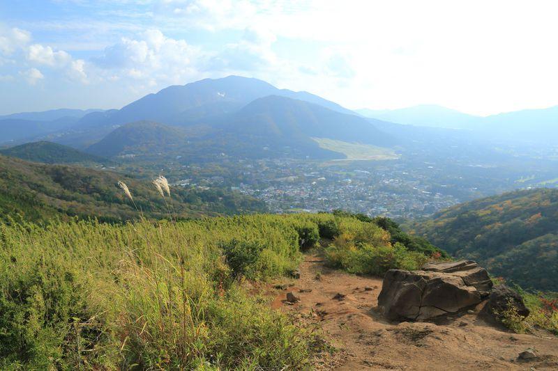一番ベーシックな「金時神社口」!山岳景観の「金時登山口」