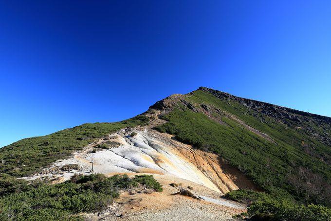 赤岳鉱泉から時計回りで硫黄岳山頂まで