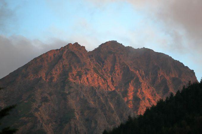 最後の難関、「文三郎尾根」で行者小屋を経て赤岳鉱泉まで