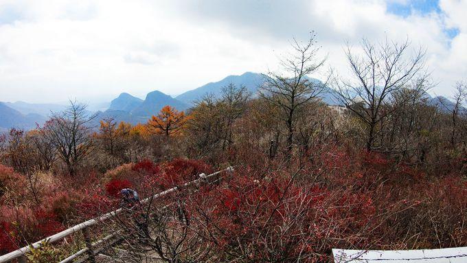 榛名富士山頂へはロープウェイでも!山頂では遮るものがない絶景を堪能