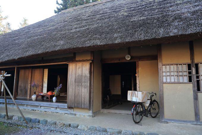 江戸時代の紙漉き農家家屋を移築!見学も可能