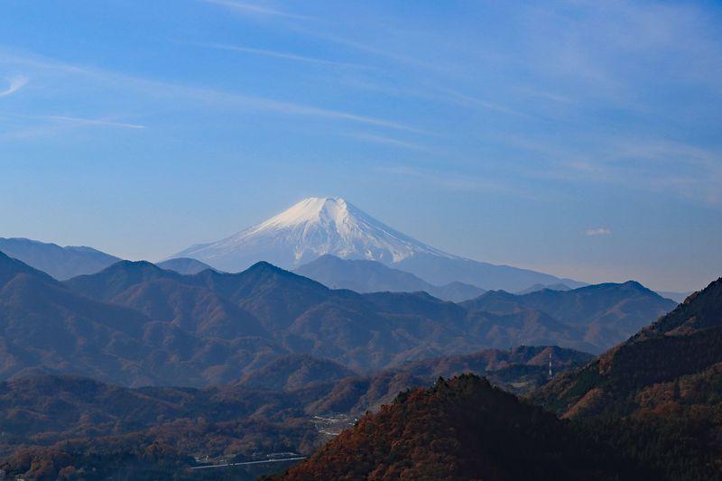 お好みの富士山を!ゆっくり眺める、山梨・要害山ハイキング