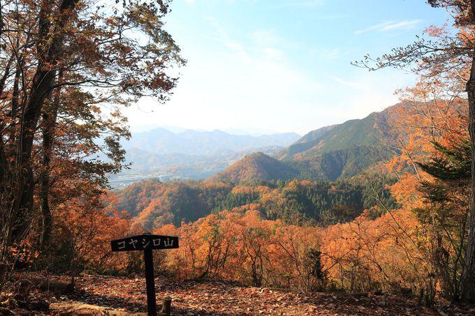 富士山絶景は、尾続山、コヤシロ山、風の神様、要害山他で