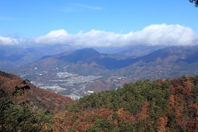 倉岳山まで縦走!すがすがしい尾根歩きが楽しめる