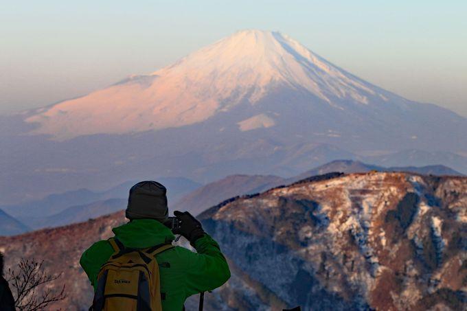 山頂は相当な寒さなので、防寒対策はしっかりと