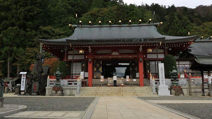 大山阿夫利神社の初詣は下社、初日の出も!