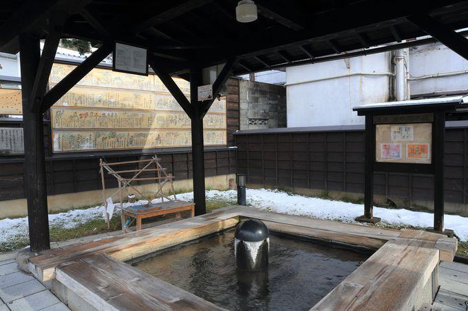 公衆浴場と日帰り施設、さらに旅館と盛りだくさんの温泉三昧