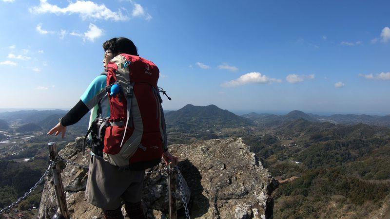 1時間で頂上からの大展望が!房総のマッターホルン「伊予ヶ岳」