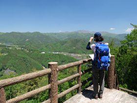 山頂まで1時間!渓谷鉄道駅からの桐生・荒神山ハイキング