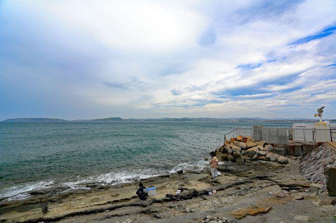 アメリカ軍初上陸の地「高ノ島」を経由し沖ノ島まで