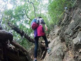男坂と女坂!スリルと展望と自然を楽しむ群馬・吾妻山ハイキング